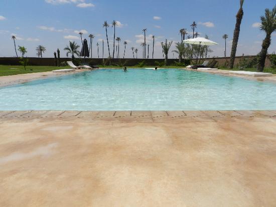 Villa Rayane : Pool view at day