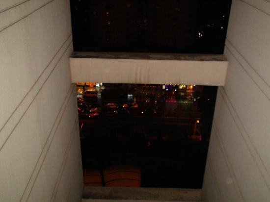Somerset Xu Hui Shanghai: View from the bathroom