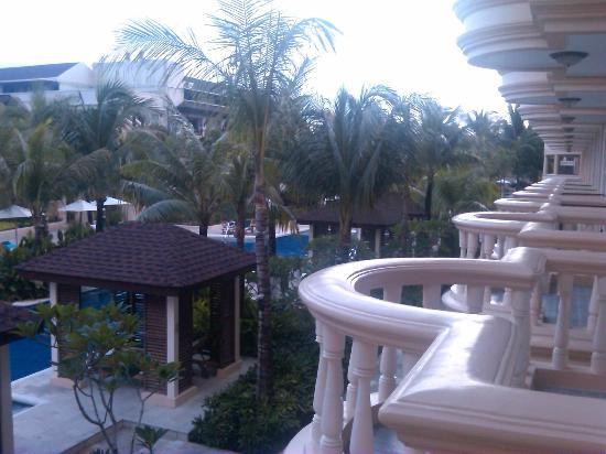 Henann Garden Resort: the  balcony