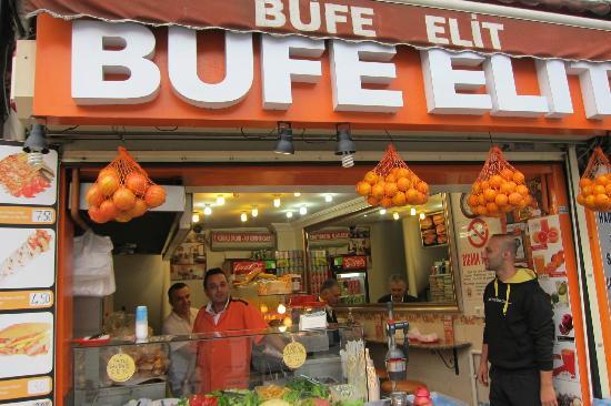 Sultanahmet District: Bufe Elit