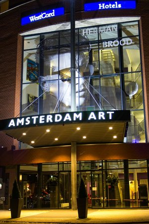 WestCord Art Hotel Amsterdam : Entrance Hotel
