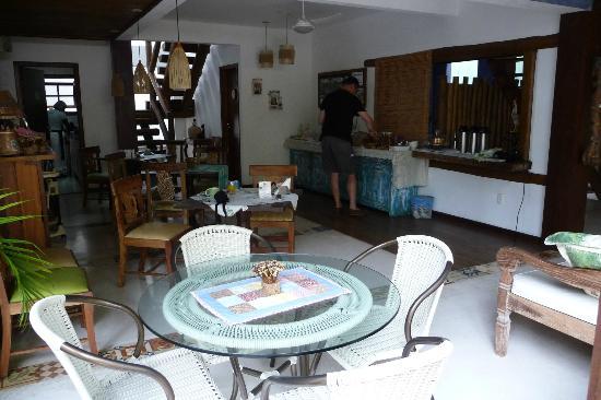 Pousada Rosa dos Ventos: Frühstücksraum