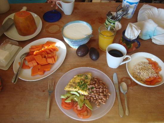 Aerolito Tulum: Breakfast time - you can call it a brunch if you want