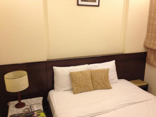 NN99 Hotel: Bedroom - left wall to right wall already.