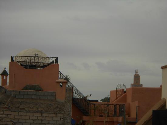 Riad Harmonia: la vue koutoubia