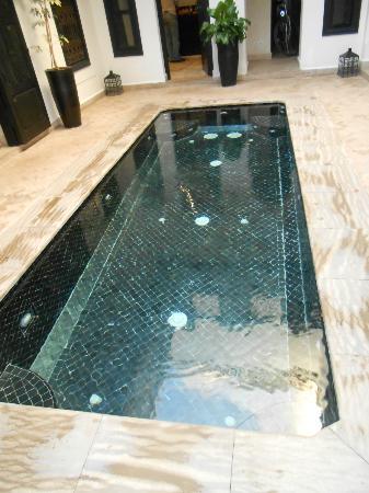 Riad Harmonia: la piscinne jacuzzi