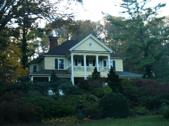 The Yellow House on Plott Creek Road: view from outside front