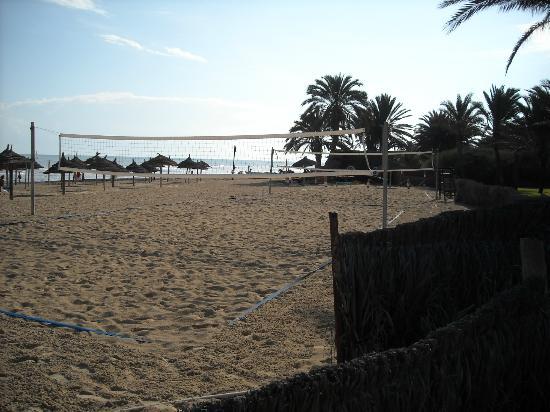 Odyssee Resort & Thalasso: beach volley 2 terrains