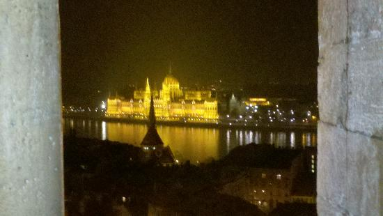 Hilton Budapest: Spectacular view from the Budapest Hilton - Castle Hill