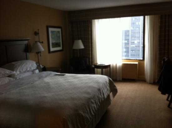 Sheraton Centre Toronto Hotel: our room 33rd floor