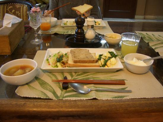 Sapna: Indian breakfast インド朝食