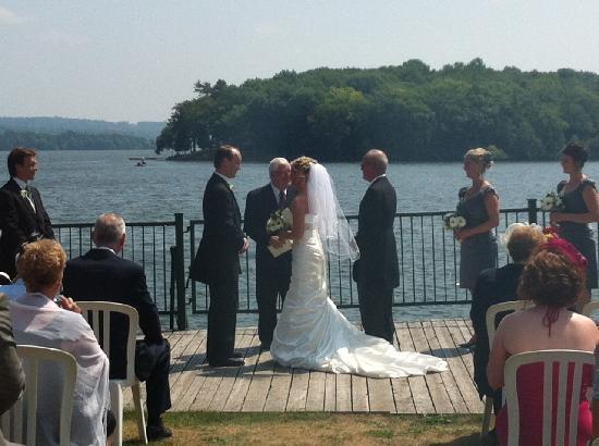 Hearthside Dining Room: weddings on boardwalk