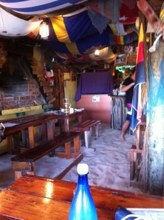Tapas Beach Restaurant: Inneneinrichtung