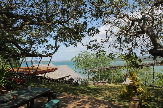 Quissico, Mozambik: view from the lodge
