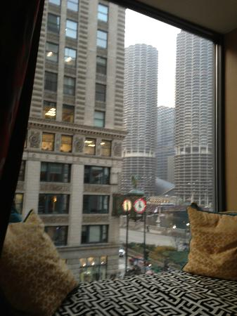 Hotel Monaco Chicago - a Kimpton Hotel: Window view