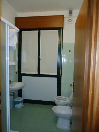 Central Hostel: baño