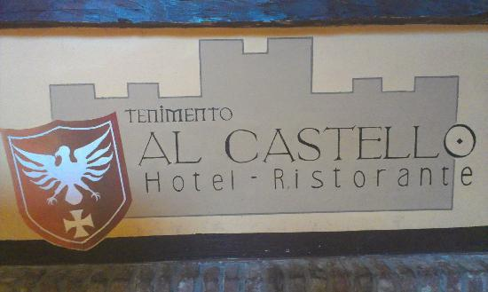 Tenimento Al Castello: Reception