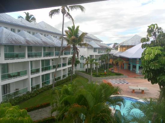 Grand Paradise Playa Dorada: VUE DE NOTRE CHAMBRE