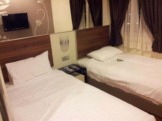 Tune Hotel Danga Bay: Comfy beds