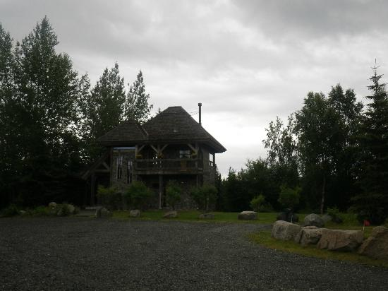Tower Rock Lodge: The main guest house for large parties
