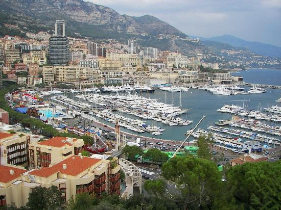 Monaco-Ville, Monaco : Harbor