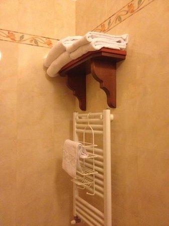 Hotel Domus Praetoria: riscalda asciugamani