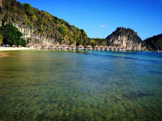 El Nido Resorts Apulit Island : Apulit's water cottages