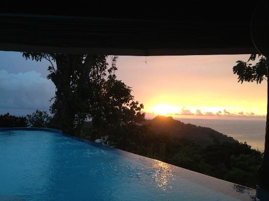 La Mariposa Hotel: Beautiful sunset!