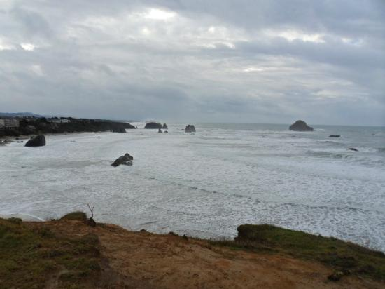 Bandon Beach Motel: Corner roms have best views.