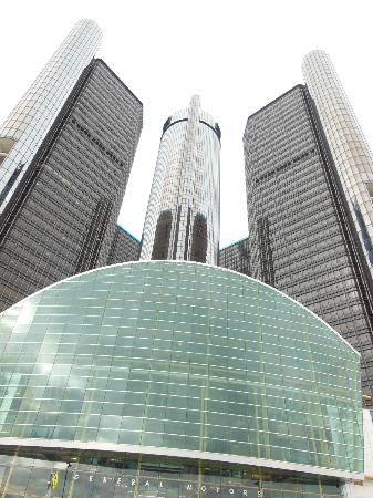 Detroit Marriott at the Renaissance Center: From the front