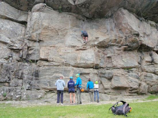 Adventure Norway: Hesså climbing wall