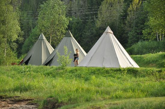 Adventure Norway: Our simple accommodation