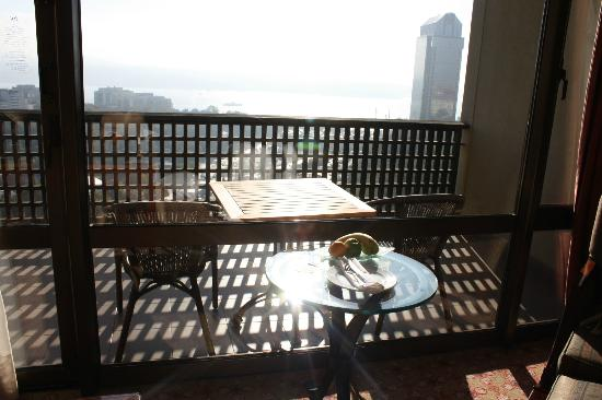 Hilton Istanbul Bosphorus: Amazing views from the balcony
