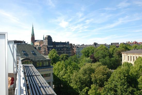 Scandic Anglais: view