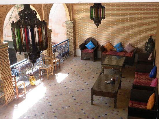 Riad Meknes: Hier gab es zur Begrüßung Tee