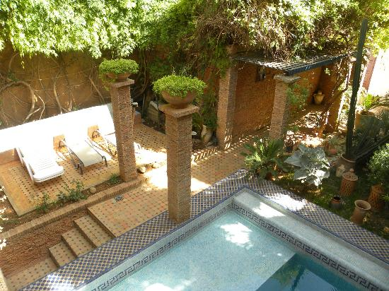 Riad Meknes: Am Pool