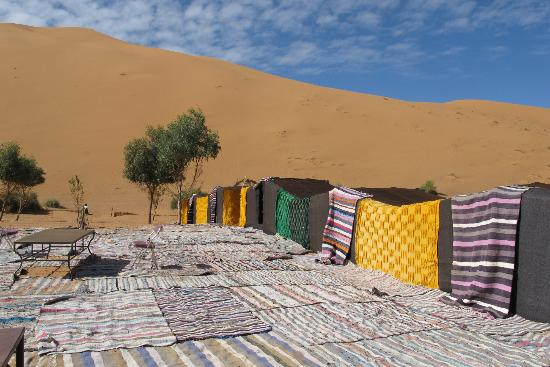 Ksar Bicha: Ksar Bishas camp in the dunes
