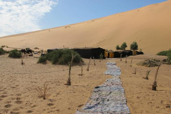 Ksar Bicha: Entrance to desert camp