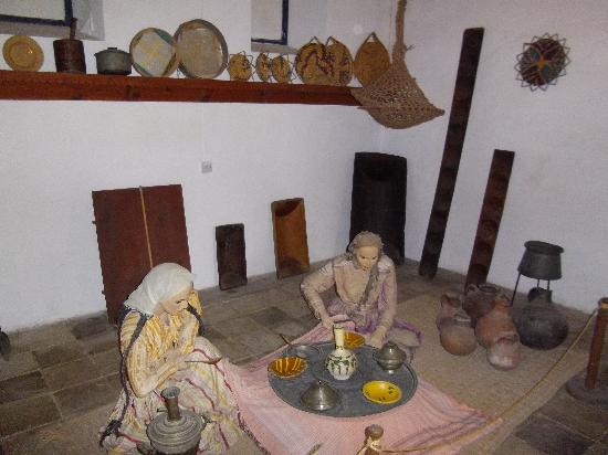 The Dervis Pasha Mansion: Room set up as a dwelling