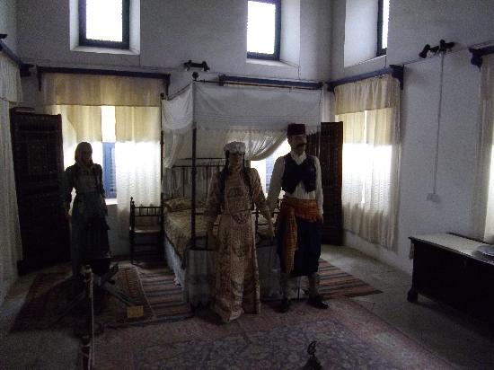 The Dervis Pasha Mansion: Bridal attire