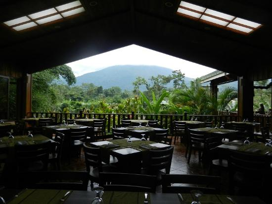 Arenal Manoa Hotel: Dining room