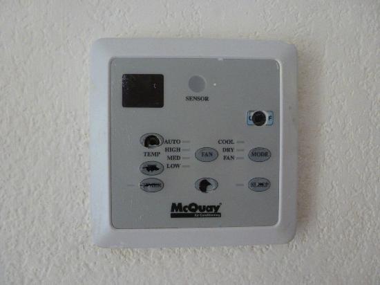 Melia Península Varadero: climatisation de la chambre très vétuste