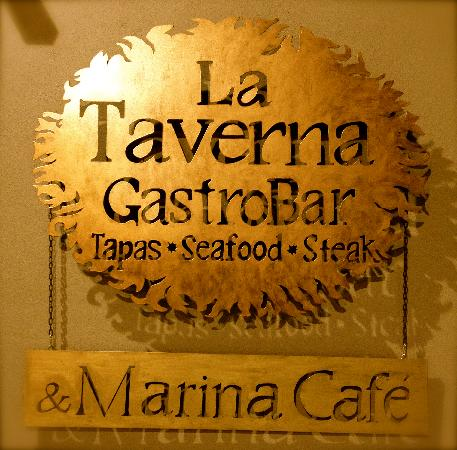 La Taverna GastroBar: Our new Logo & Sign
