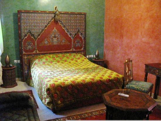 Riad Raouia: una delle bellissime stanze