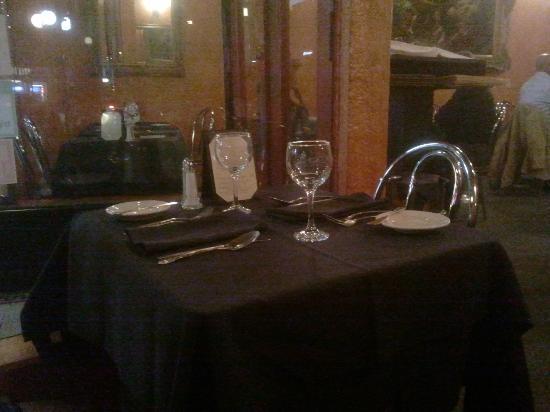 La Terrazza Restaurant : Tavolo
