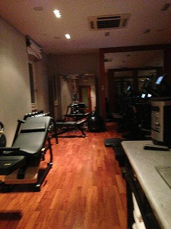 The St. Regis Florence: the exercise room