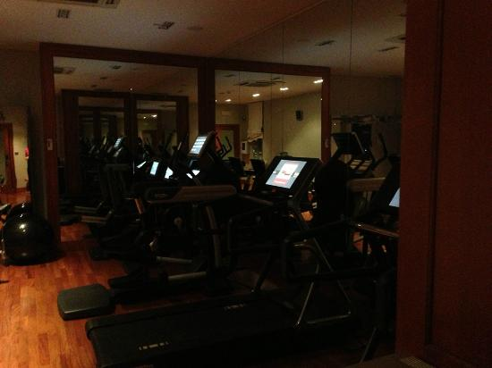 The St. Regis Florence: view of exercise room