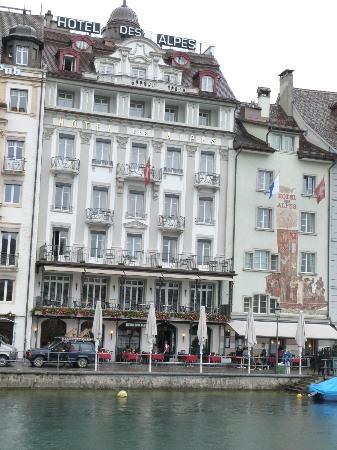 Hotel des Alpes: Hotel
