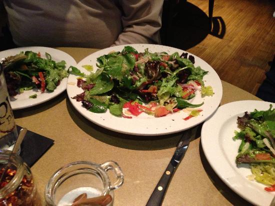 PW Pizza salad