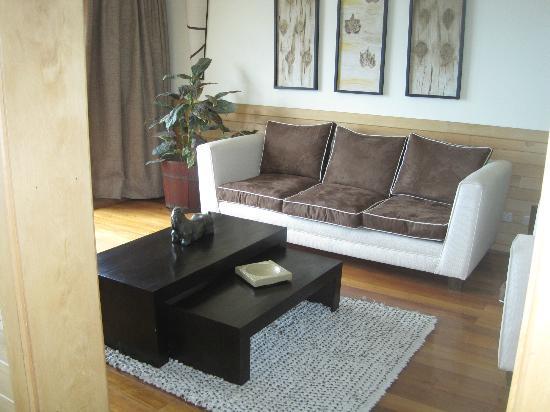 Hotel Bellavista Puerto Varas: living space in our suite